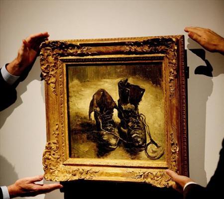los zapatos viejos_Van Gogh