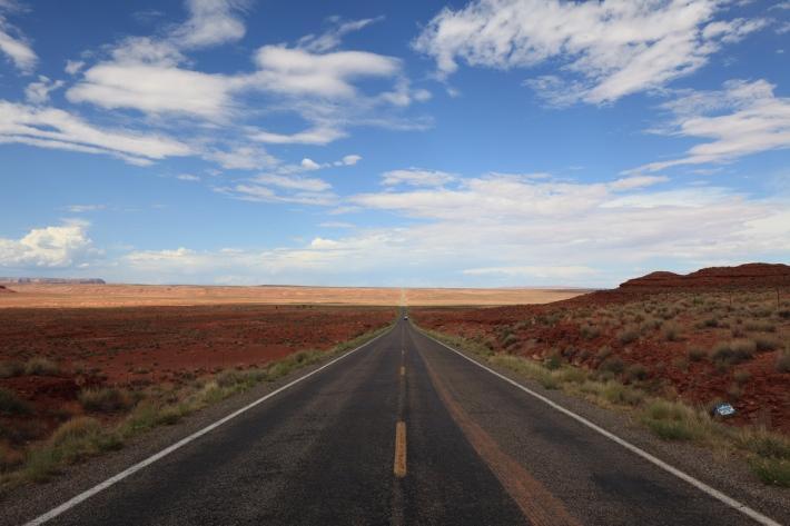 Infinite-road