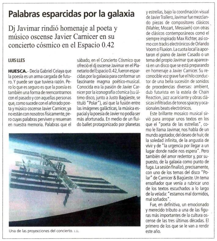 Diario del AltoAragón. 4 de enero de 2016.